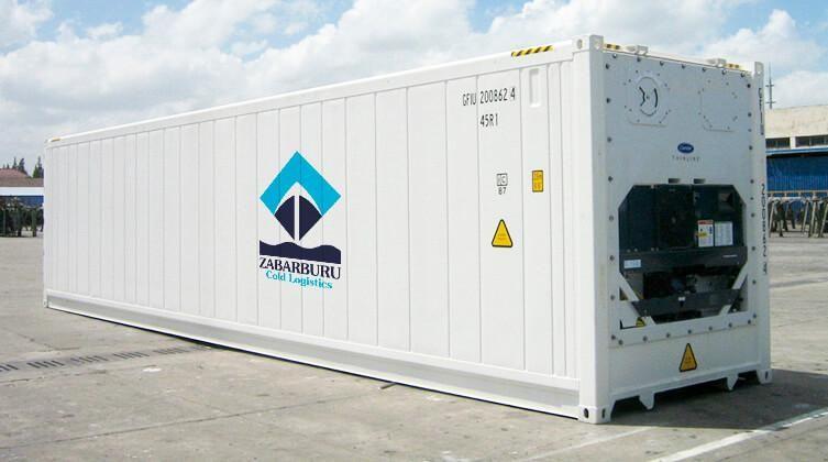 Alquiler de contenedor refrigerado
