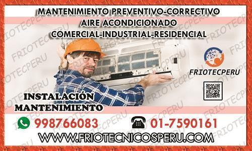 SERVICIO TECNICO DE AIRE ACONDICIONADO (TODAS LAS MARCAS)