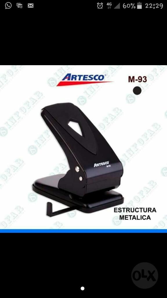 Vendo Perforador Negro Nuevo