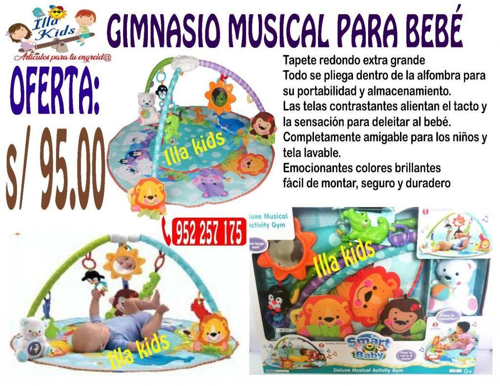 GIMNASIO MUSICAL PARA BEBÉS