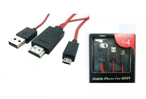 Cable Mhl Para Samsung Galaxy Note2, Galax, S3, Y (s4 I9500)