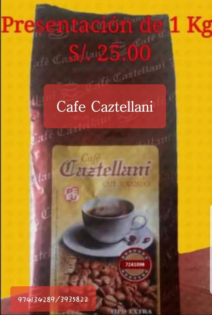 Café Tostado Y Molido, Cafe Caztellani
