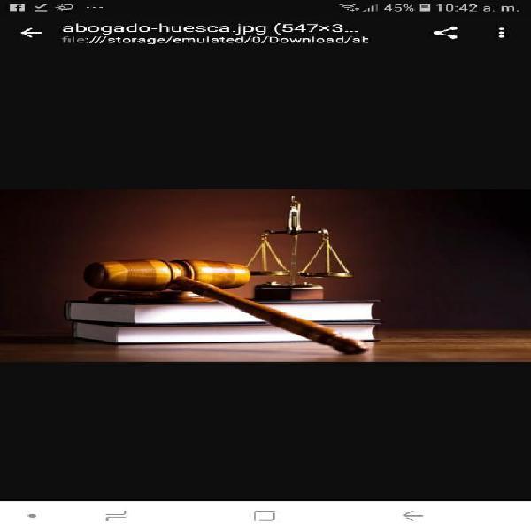 Abogado Espec. Civil Laboral Penal Famil