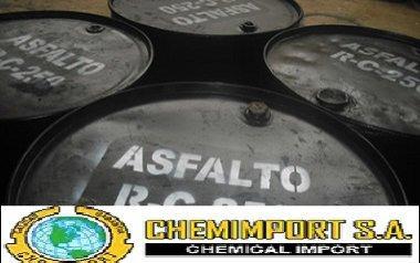 Asfalto frío Mezcla Asfáltica con RC250 y Aditivo