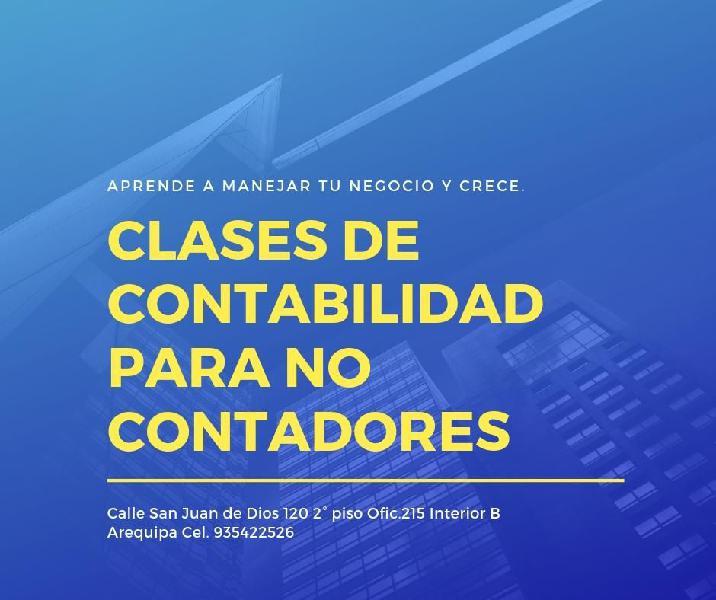 CLASES PARTICULARES DE CONTABILIDAD PARA EMPRENDEDORES y