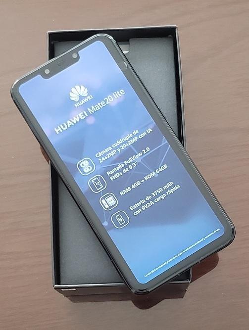 HUAWEI MATE 20 LITE -  NUEVO EN CAJA - 64GB