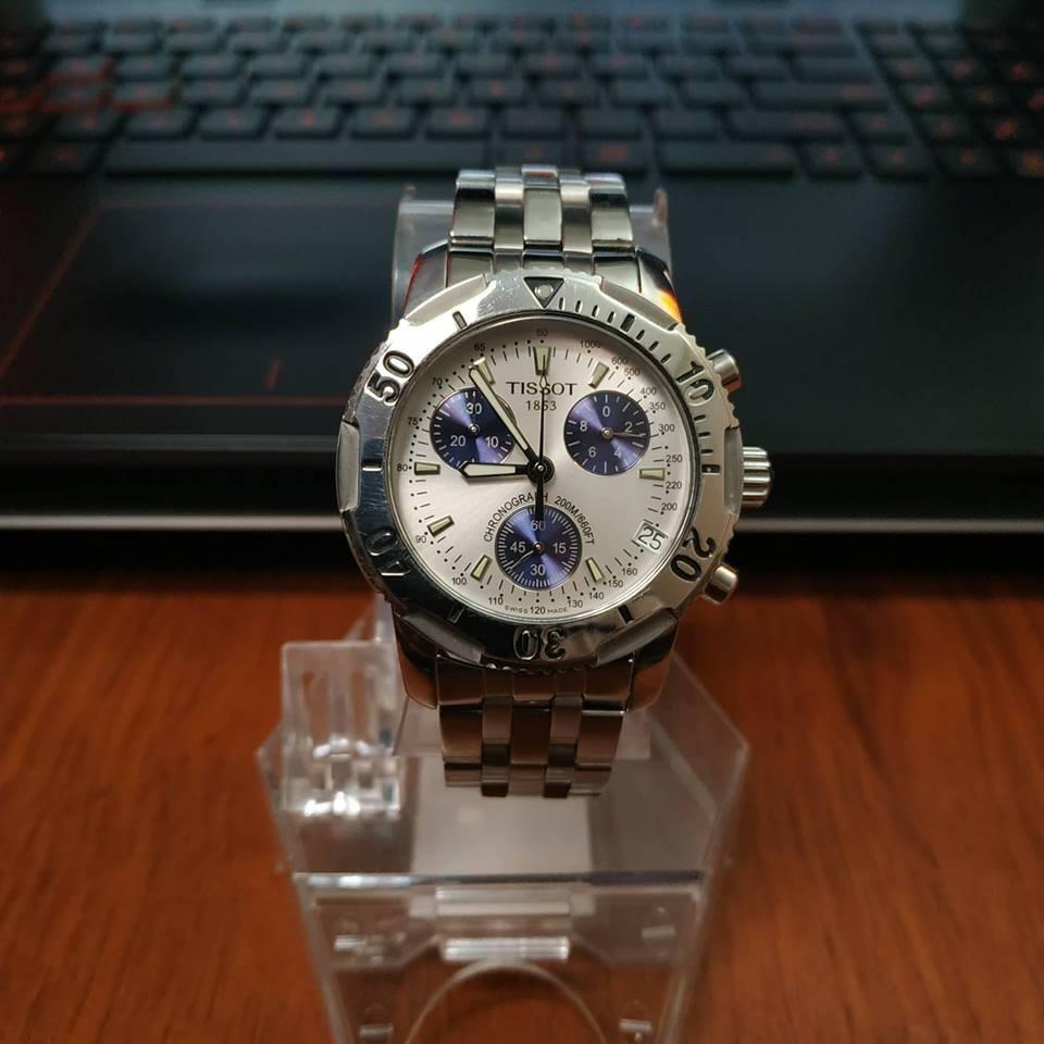 Reloj Tissot Prs 200 Suizo Zafiro Chronografo 200m