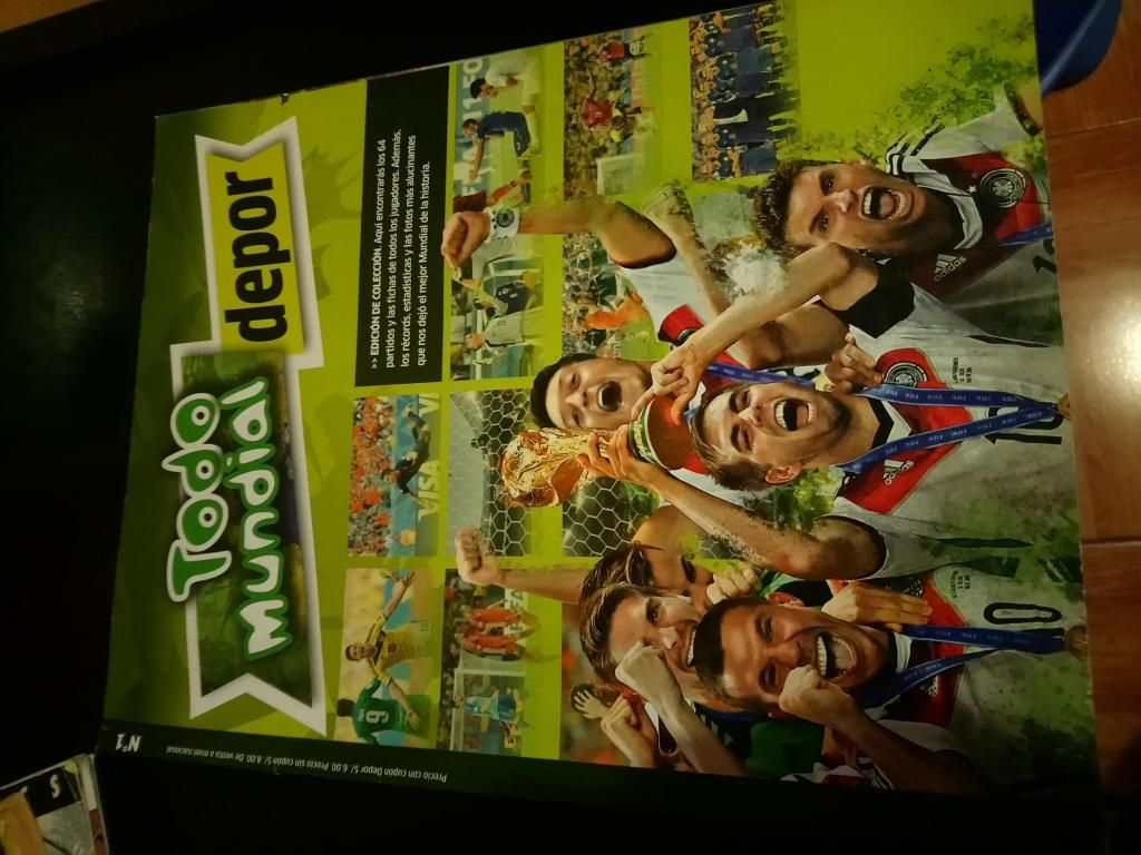 Revista Del Mundial Brasil