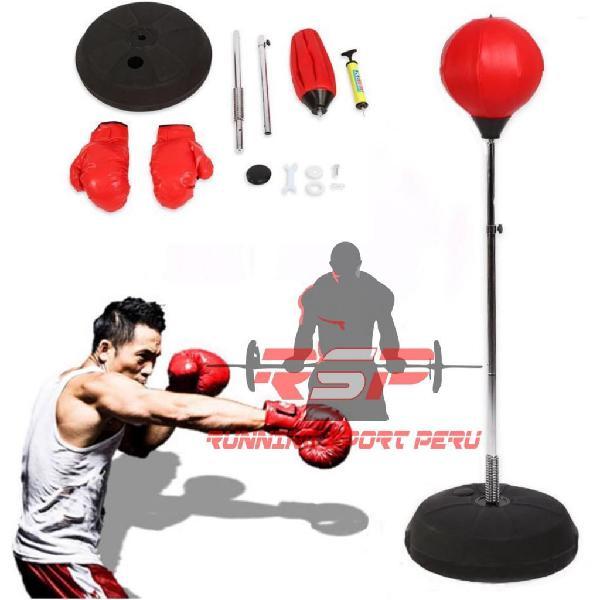 Saco de Boxeo Saco de Suelo para Práctica de Boxeo con