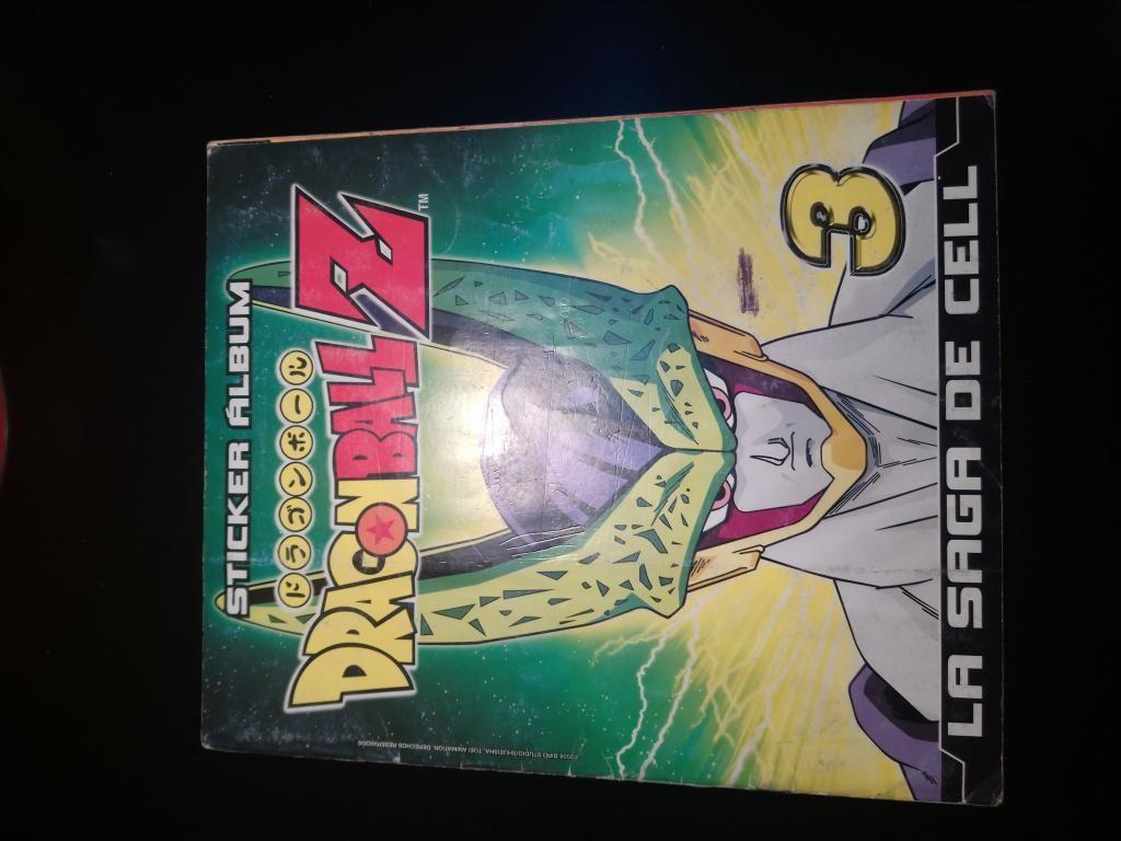 Álbum de Dragon Ball Z Saga de Cell