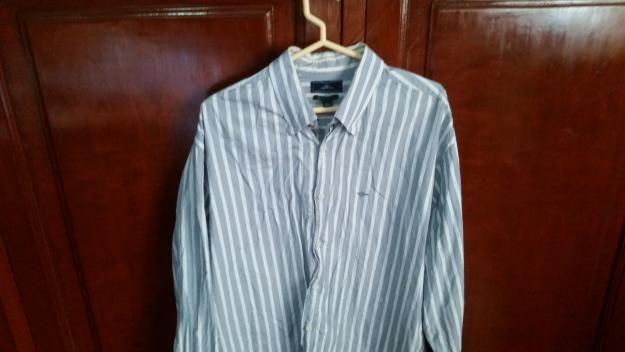 Camisas Tommy Hilfiger y Kenneth Cole. Talla L. S/ 50 c/u.