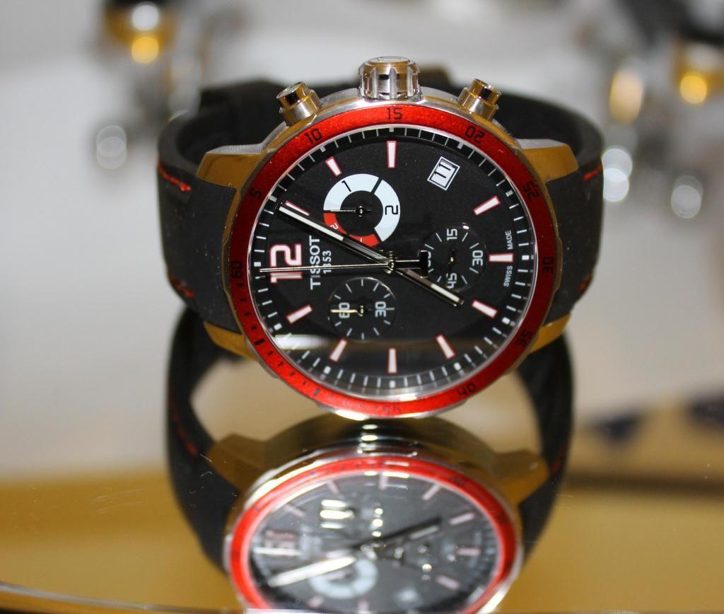 Reloj Tissot Quickster Safiro T Nuevo Original