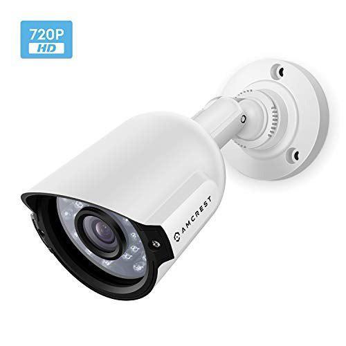 Amcrest Hd 720p Bullet Camara De Seguridad Exterior Quadbrid