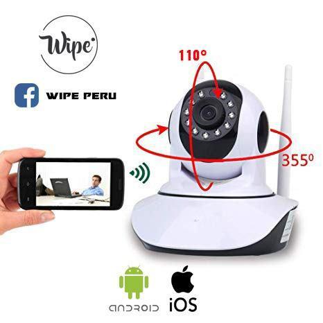 Camara De Video Vigilancia Inalambrica Ip