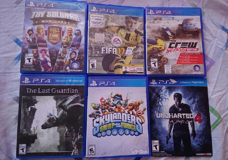Vendo O Cambio Juegos Ps4 Play Station