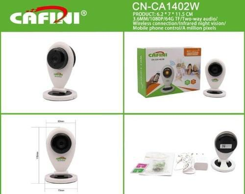 Wifi Cámara De Vigilancia Cn-ca1402w Hd 1080p Tf64g