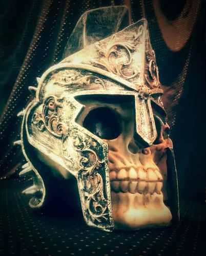 Adorno Skull Para Escritorio, Oficina, Sala U Hogar