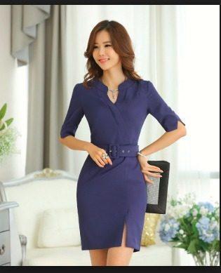 Vestidos Oficina Casuales S/65.00 Promocion