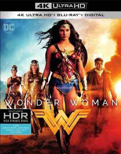 Blu Ray 4k Uhd Hdr Wonder Woman En Stock Nuevo Sellado