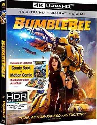 Blu Ray Bumblebee 2d - 4k - Stock - Nuevo - Sellado