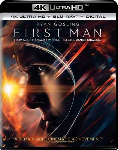 Blu Ray First Man 2d - 4k - Stock - Nuevo - Sellado