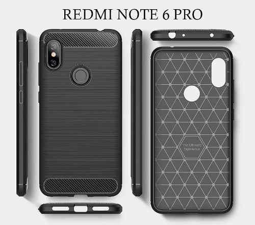 Xiaomi Redmi Note 6 Pro - Carcasa, Case, Funda Protectora
