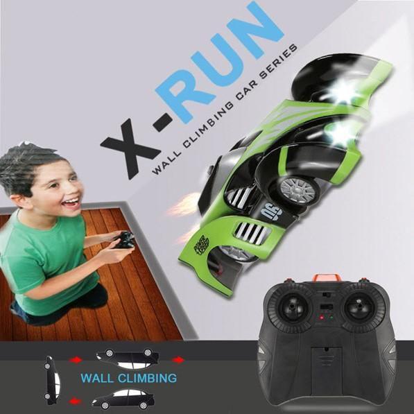 Auto Control Remoto Dhd X Run C1 Modo De Escalada En Pared