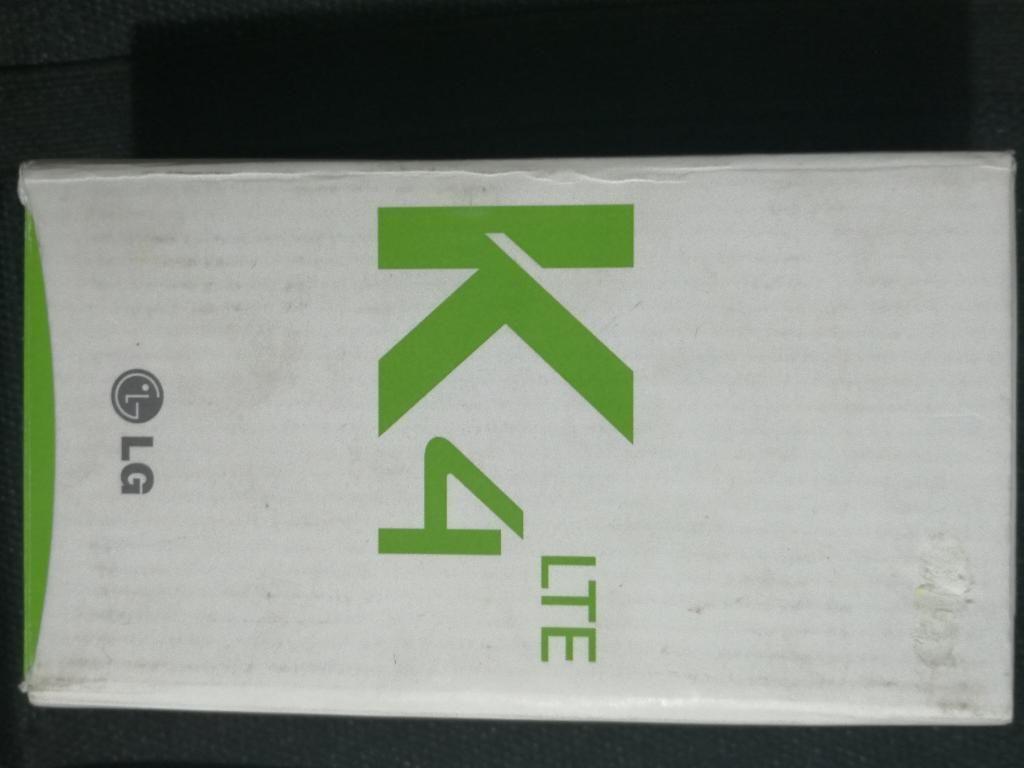 Lg K4 Lte Nuevo en Caja