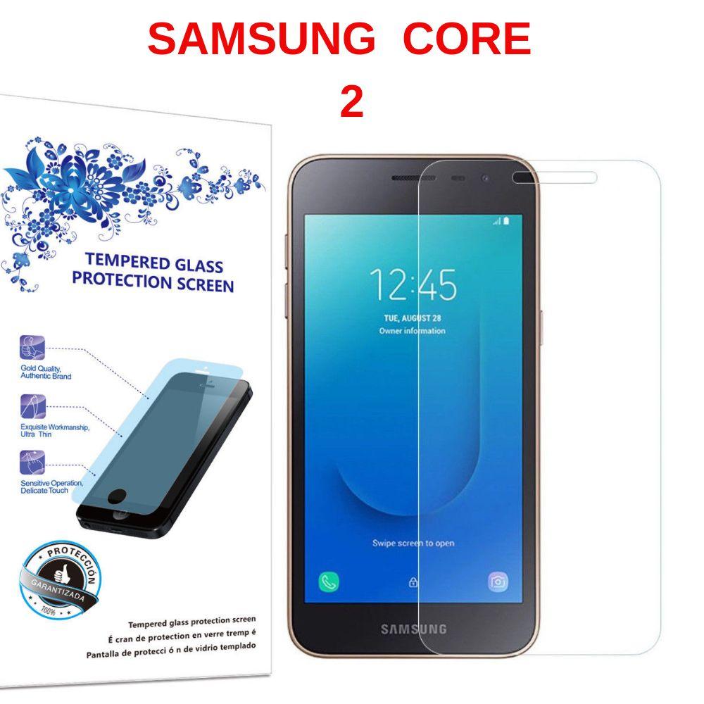 Mica Protector De Vidrio Para Samsung Galaxy Core 2