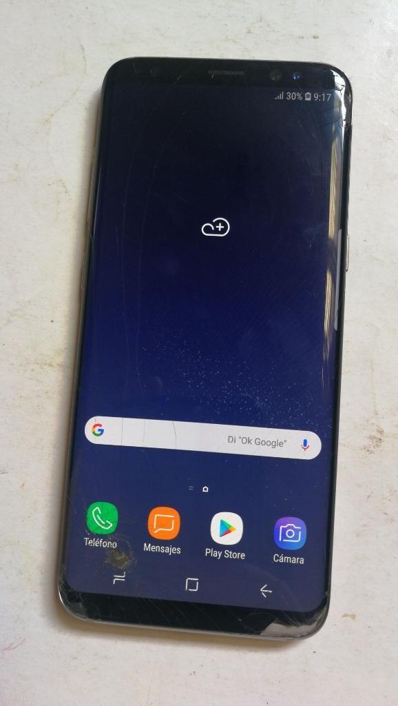 Samsung Galaxy S8 Libre Detalle Glass