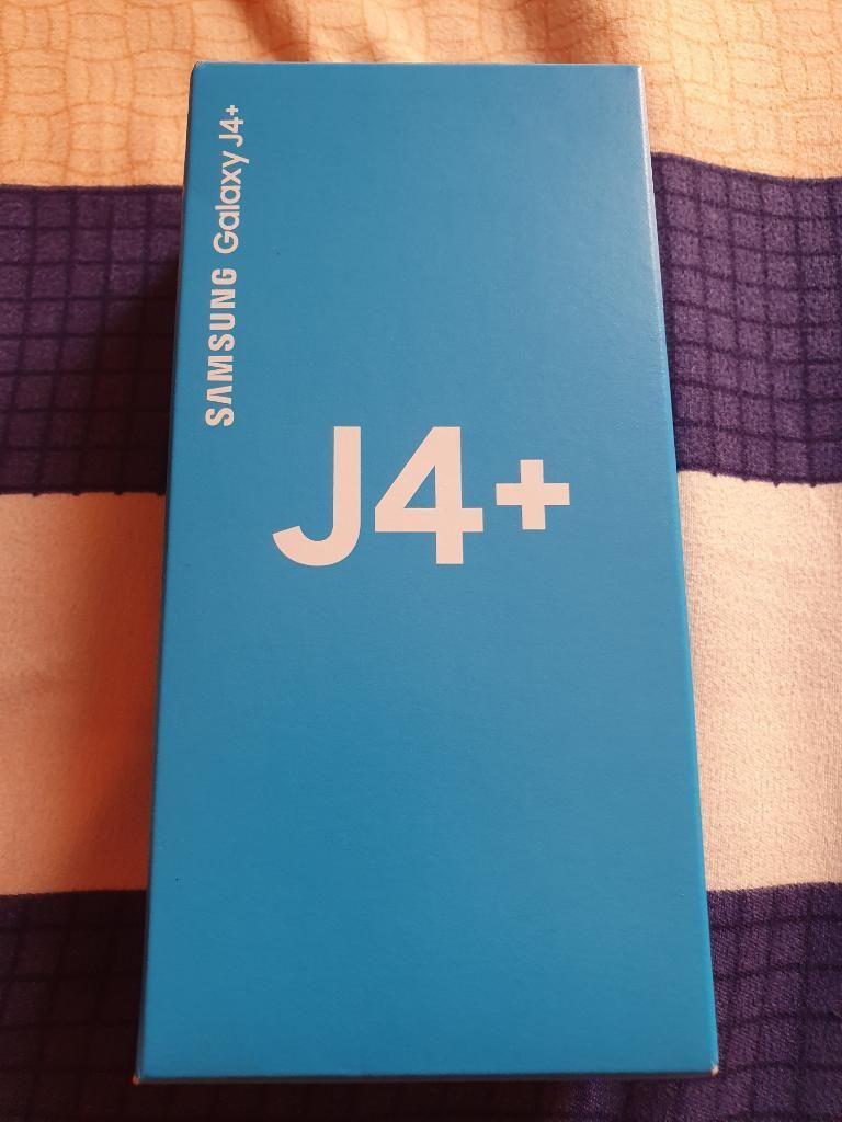 Vendo Samsung Galaxy J4 Plus Nuevo