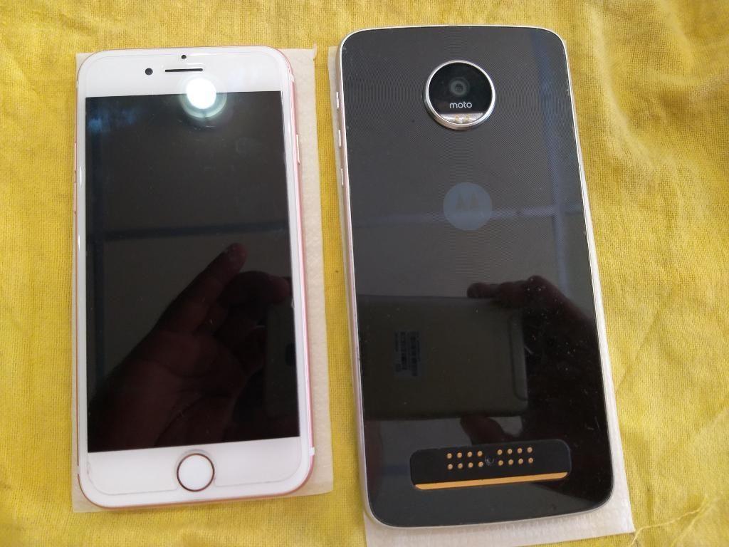 Venta de iPhone 7 de 32gb Y Moto Z Play