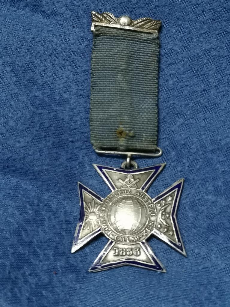 Antigua Medalla Masónica