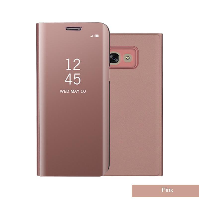 Cubierta Flip smart para Samsung Galaxy S9 color rosa gold