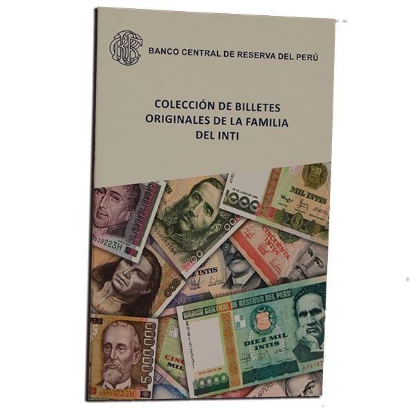 LBUM COLECCIÓN BILLETES INTIS UNC