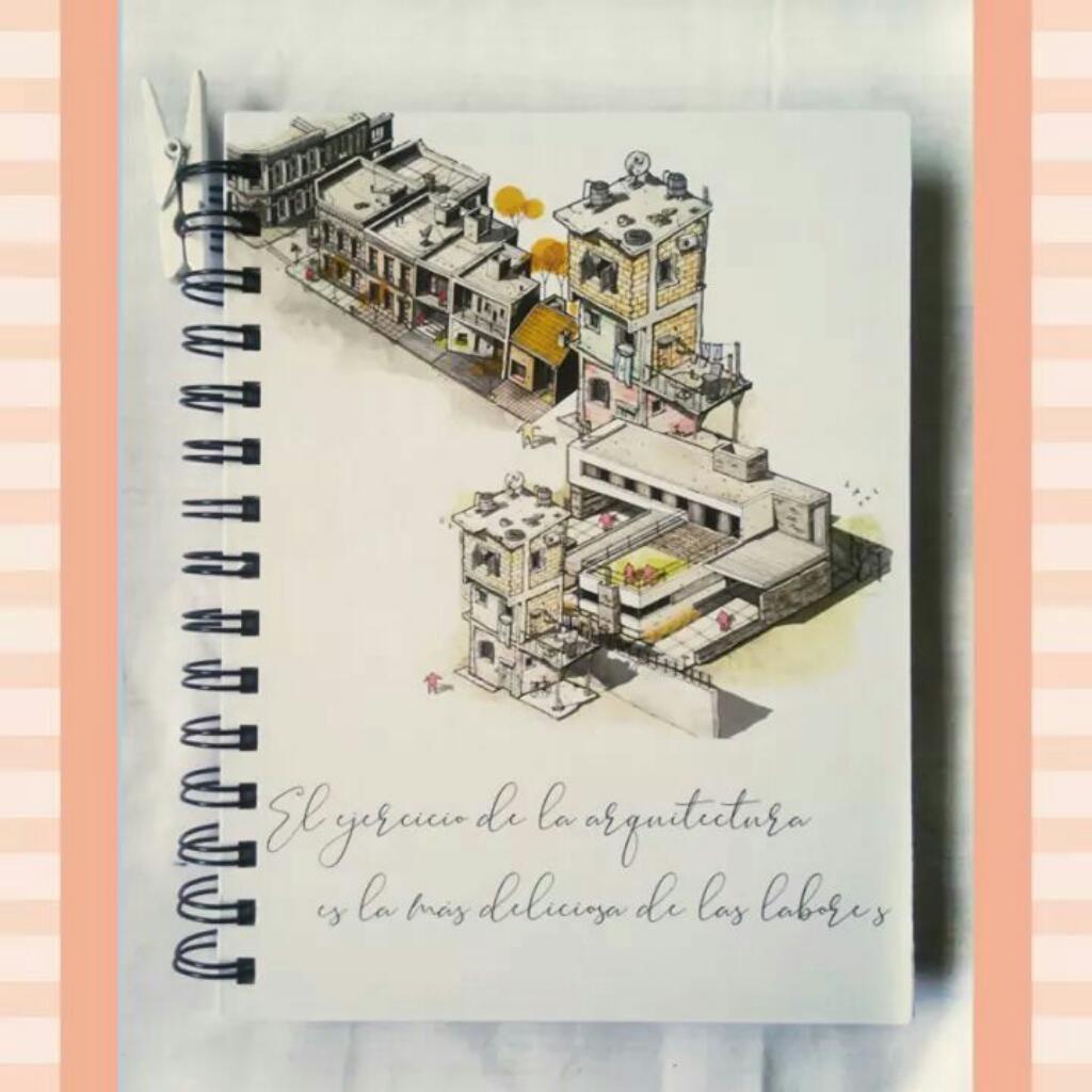 Libretas Personalizadas de Arquitectura