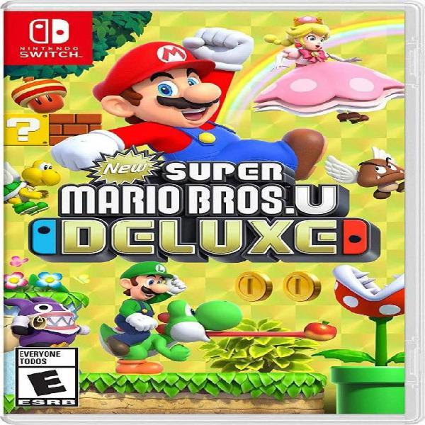 Super Mario Bros U Deluxe / Nintendo Switch Físico