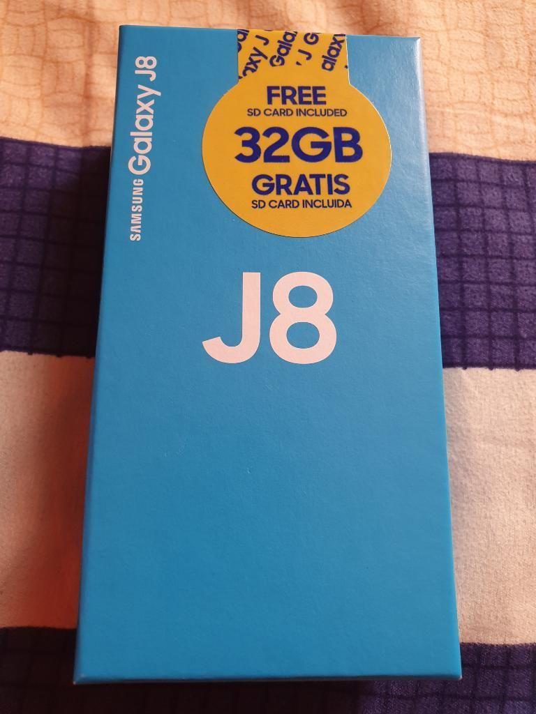 Vendo Samsung Galaxy J8 64gb Nuevo