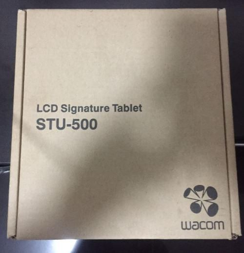 Wacom Signature Tablet Modelo STU500 nuevo en caja