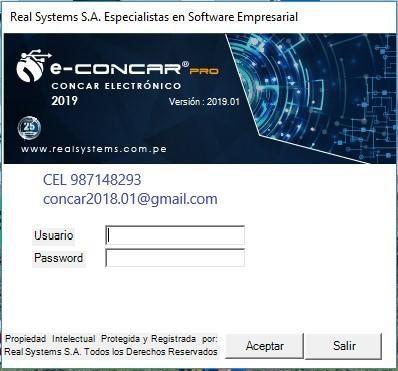 Sistema EConcar Pro