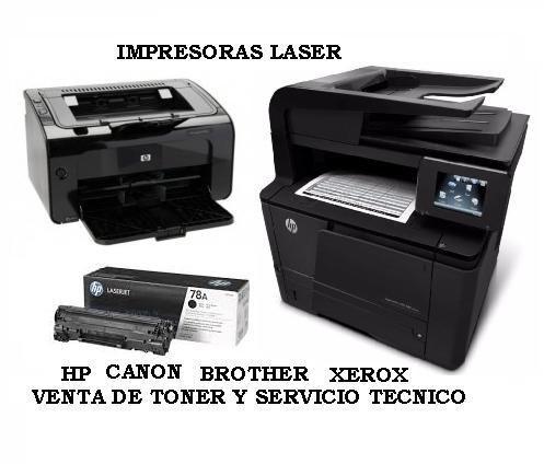 VENTA DE IMPRESORAS LASER HP DESDE 230 SOLES TONER DESDE 35