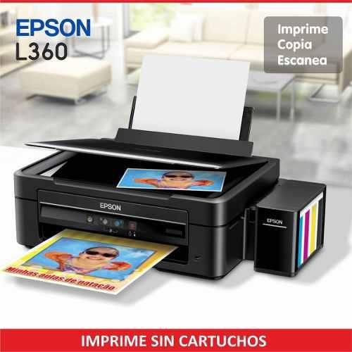 Impresora Epson Ecotank L360 Sistema Continuo Original