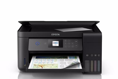 Impresora Todo-en-uno Epson Ecotank L4160 Duplex Wifi A4