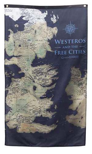 Banner De Pared De Westeros. Game Of Thrones