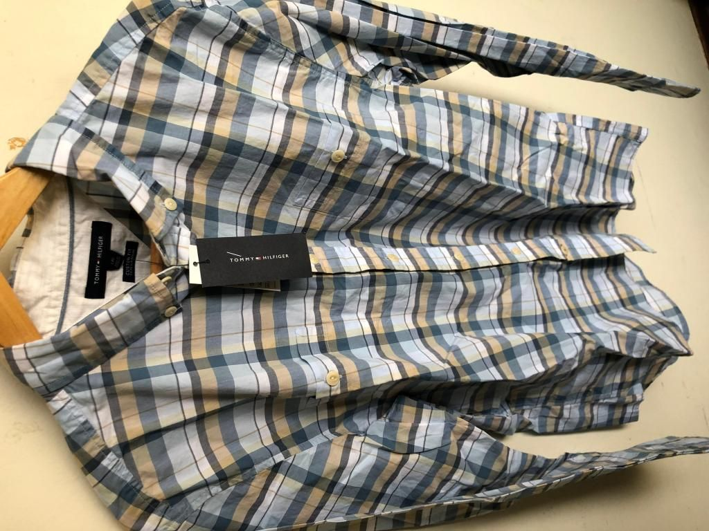 Camisa Tommy Hilfiger Custom Fit Nueva Original  Talla