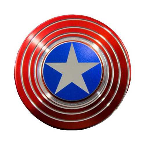 Fidget Spinner Capitán America Juguete Giratorio Anti
