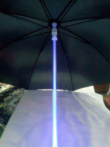 Paraguas/sombrilla Origuinal Nueva Con Luces-noche-n