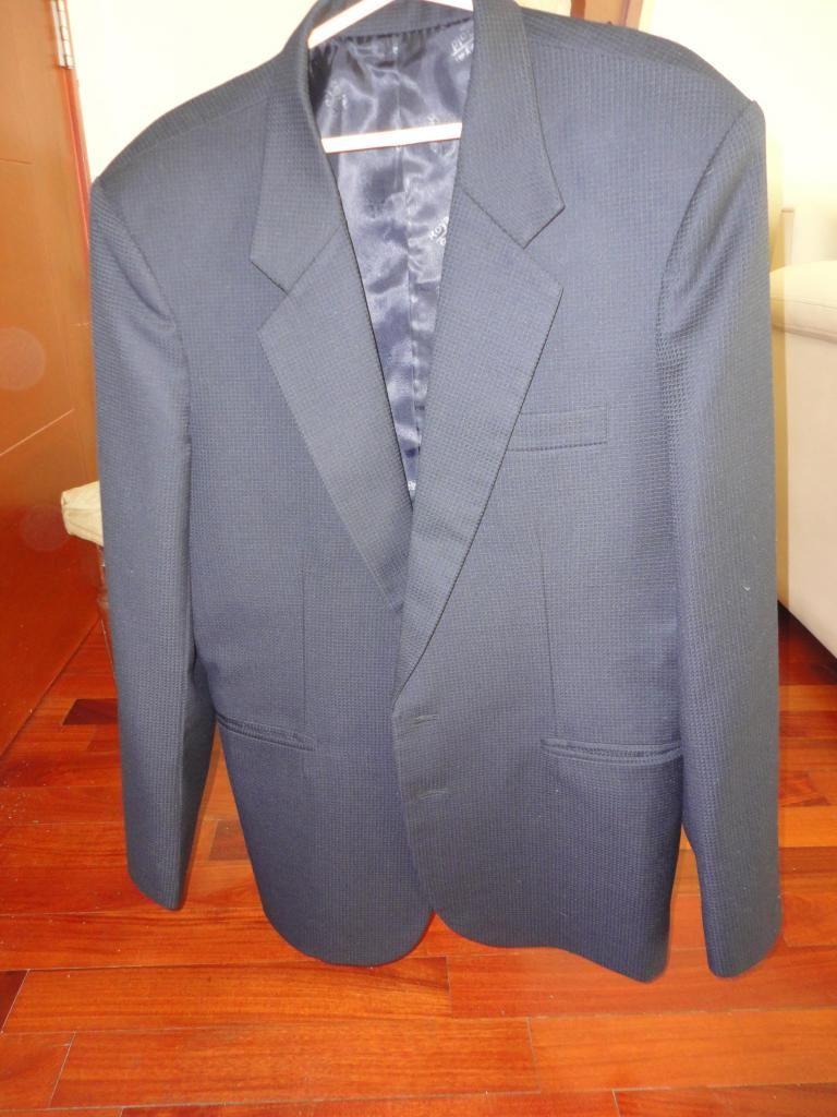 Vendo Terno color azul nuevo sin uso para caballero talla 32
