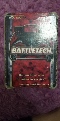 Battletech Tcg Cartas Coleccionables