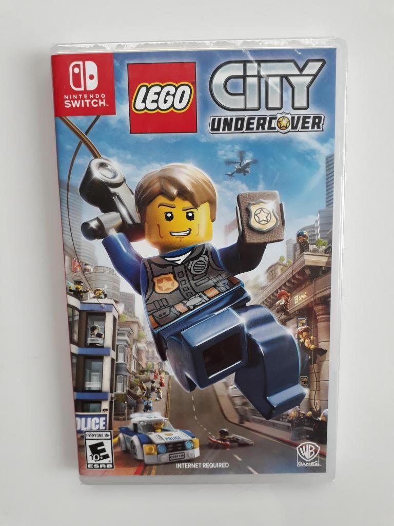 Lego City Undercover Juego Nintendo Switch Nuevo Y Sellado